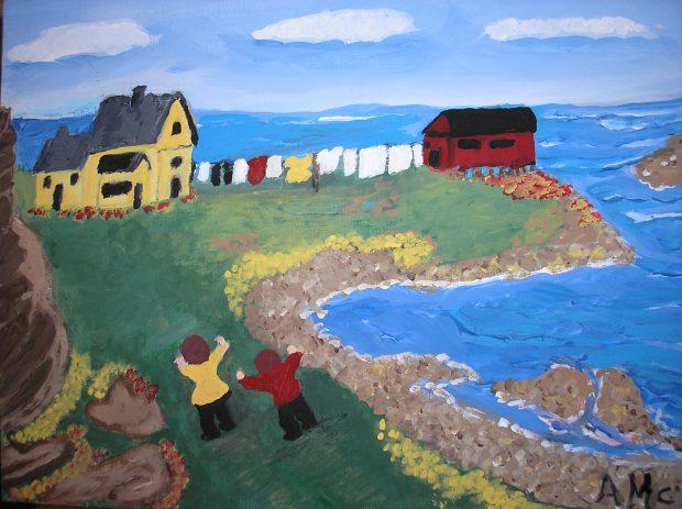 Newfoundland Wash Day