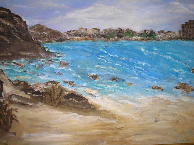 Beach Cove -AMc -Oil -2003