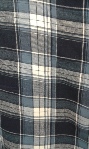 Navy Blue Plaid