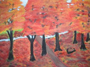 October Trees - AMc -2014