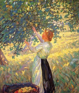 Helen McNicoll - The Apple Gatherer - 1911