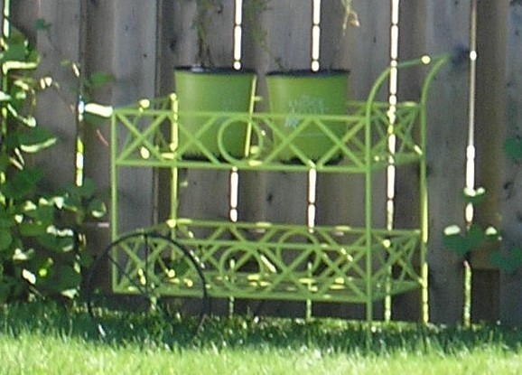 Lime green spray paint