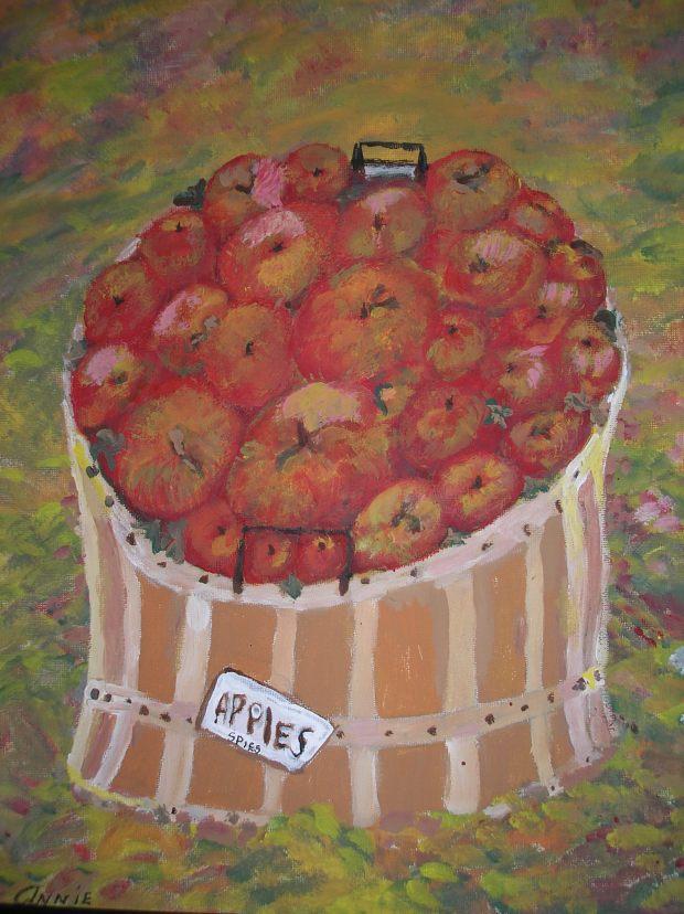 Bushel of Apples - AMc - 2015