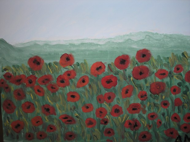 Poppies - AMc - 2016