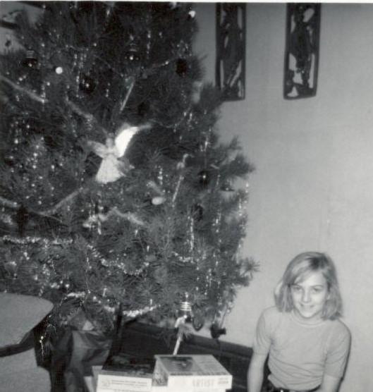 Christmas tree angel &  me
