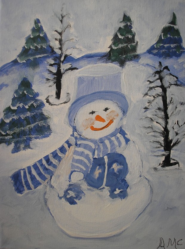 Blue Snowman - AMC - 2017