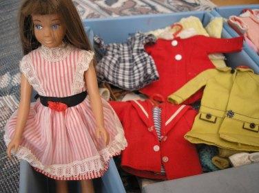Skipper and wardrobe 1965