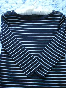 Paris striped shirt