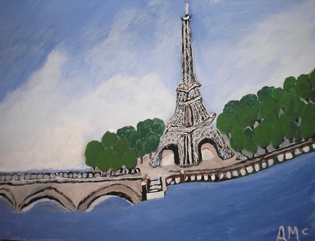 Eiffel Tower - AMc - Feb 2018