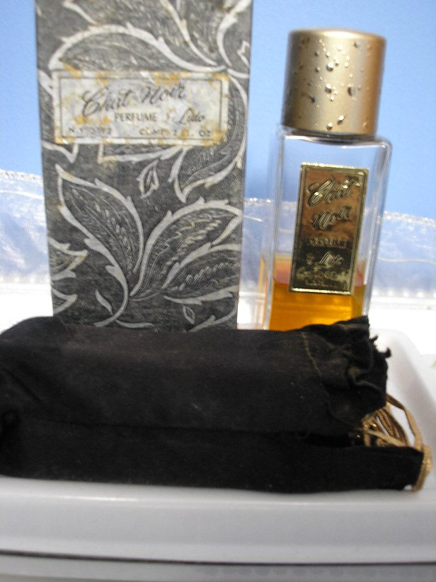 Vintage French Perfume - Chat Noir