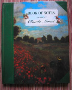 Monet notebook