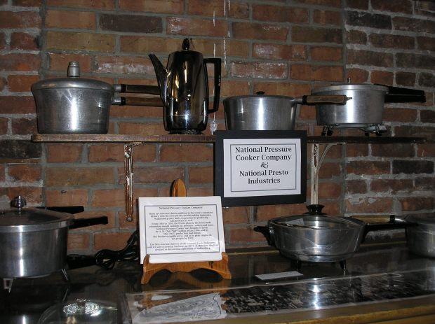 Museum pressure cookers