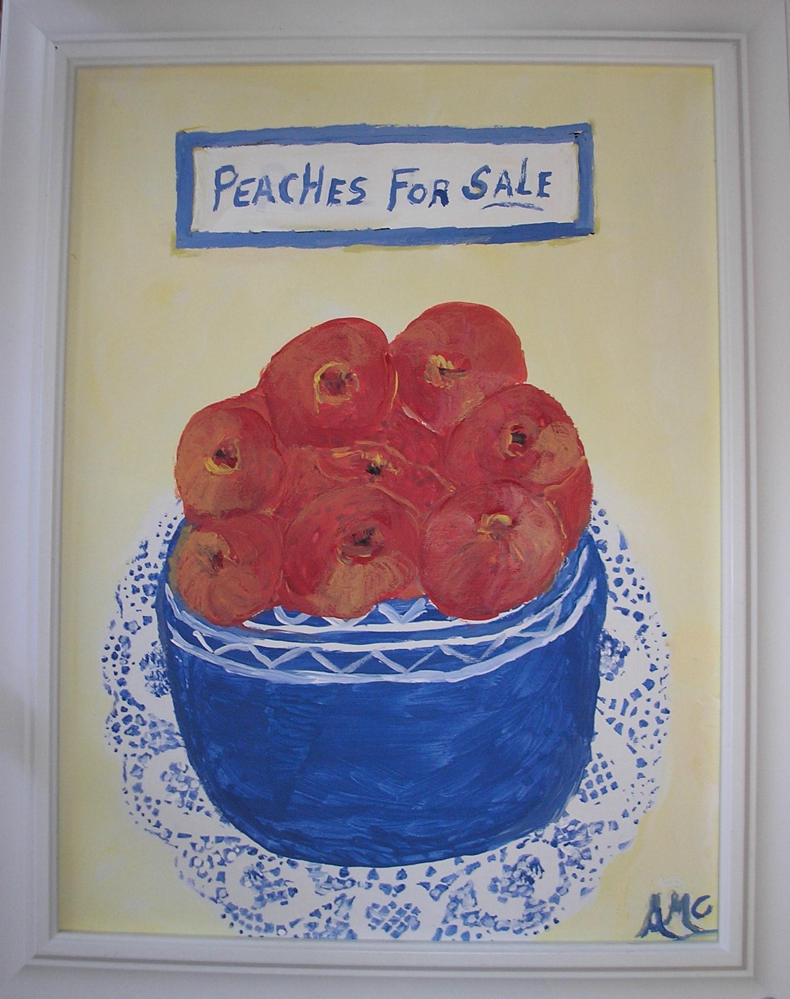 Peaches for Sale - AMc