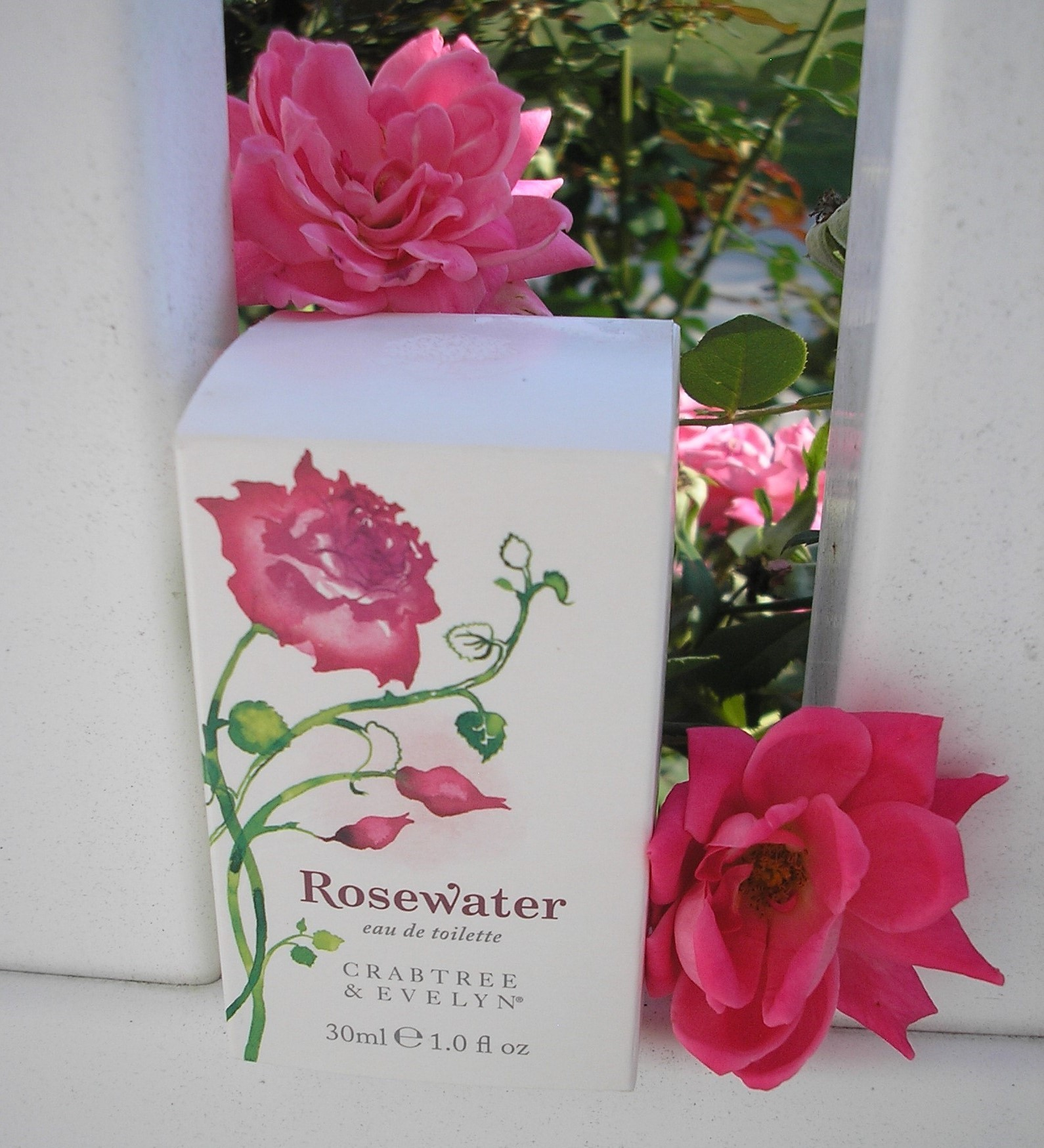 Rose perfume Crabtree and Evelyn