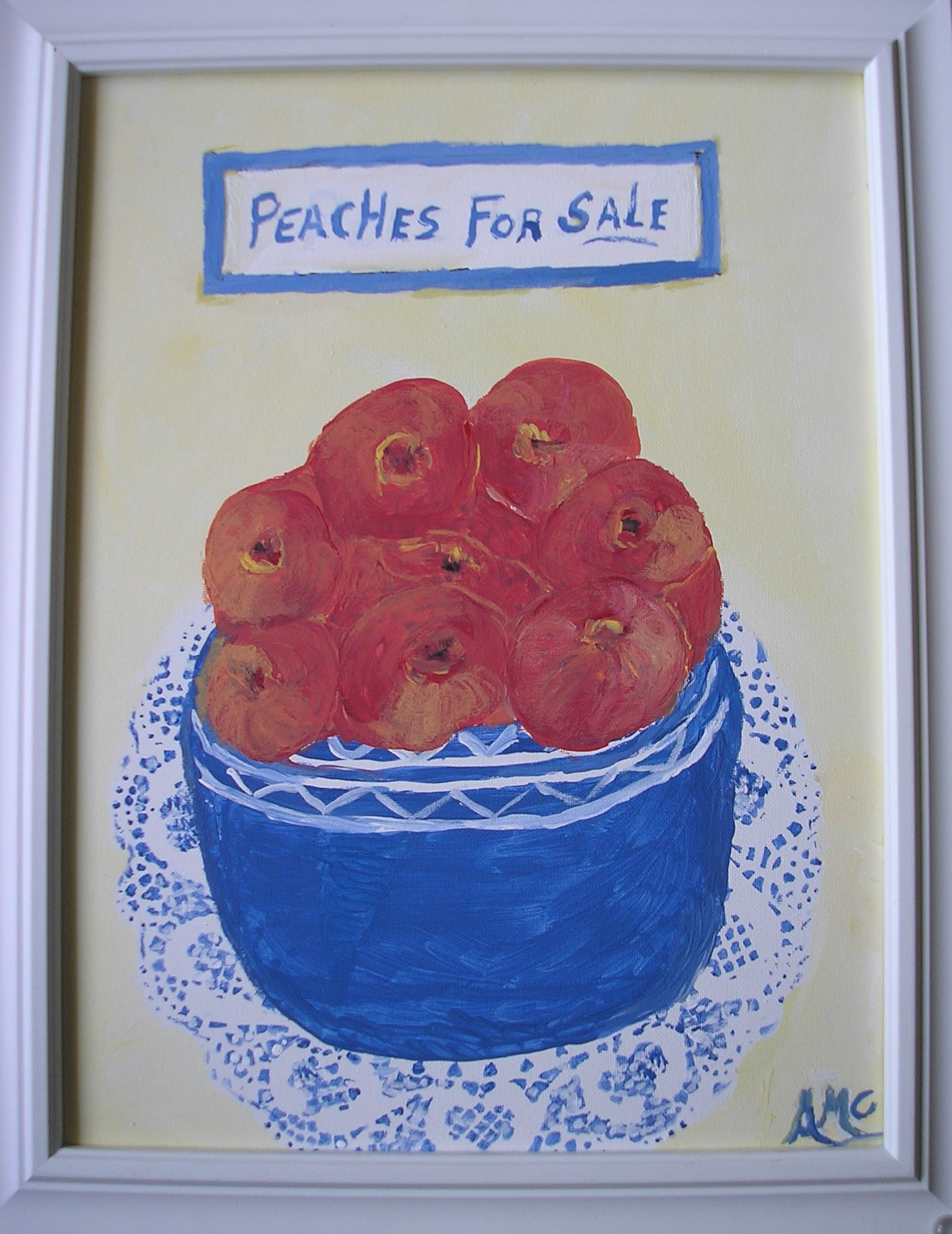 Peaches for Sale - AMc