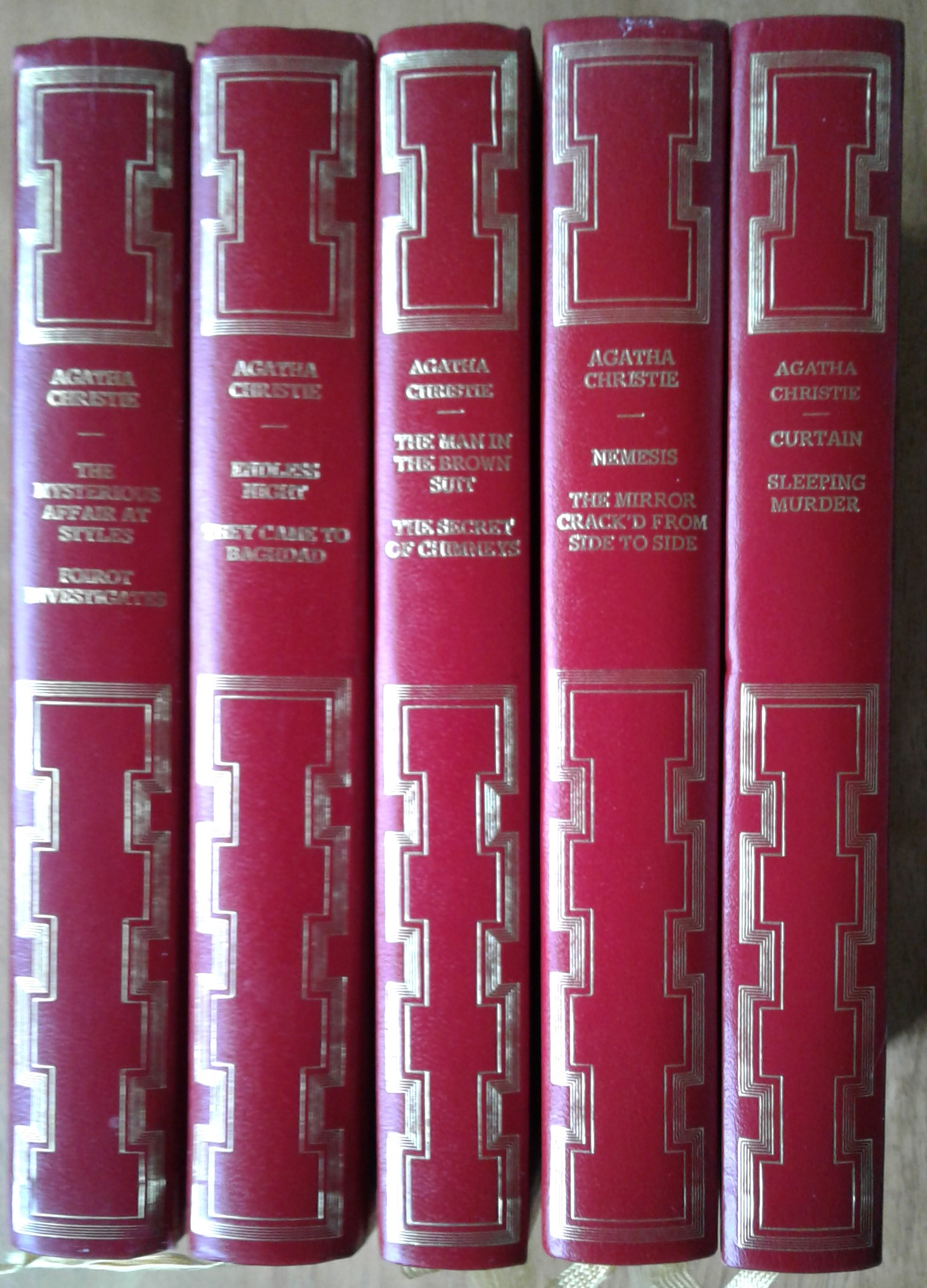 Agatha Christie books