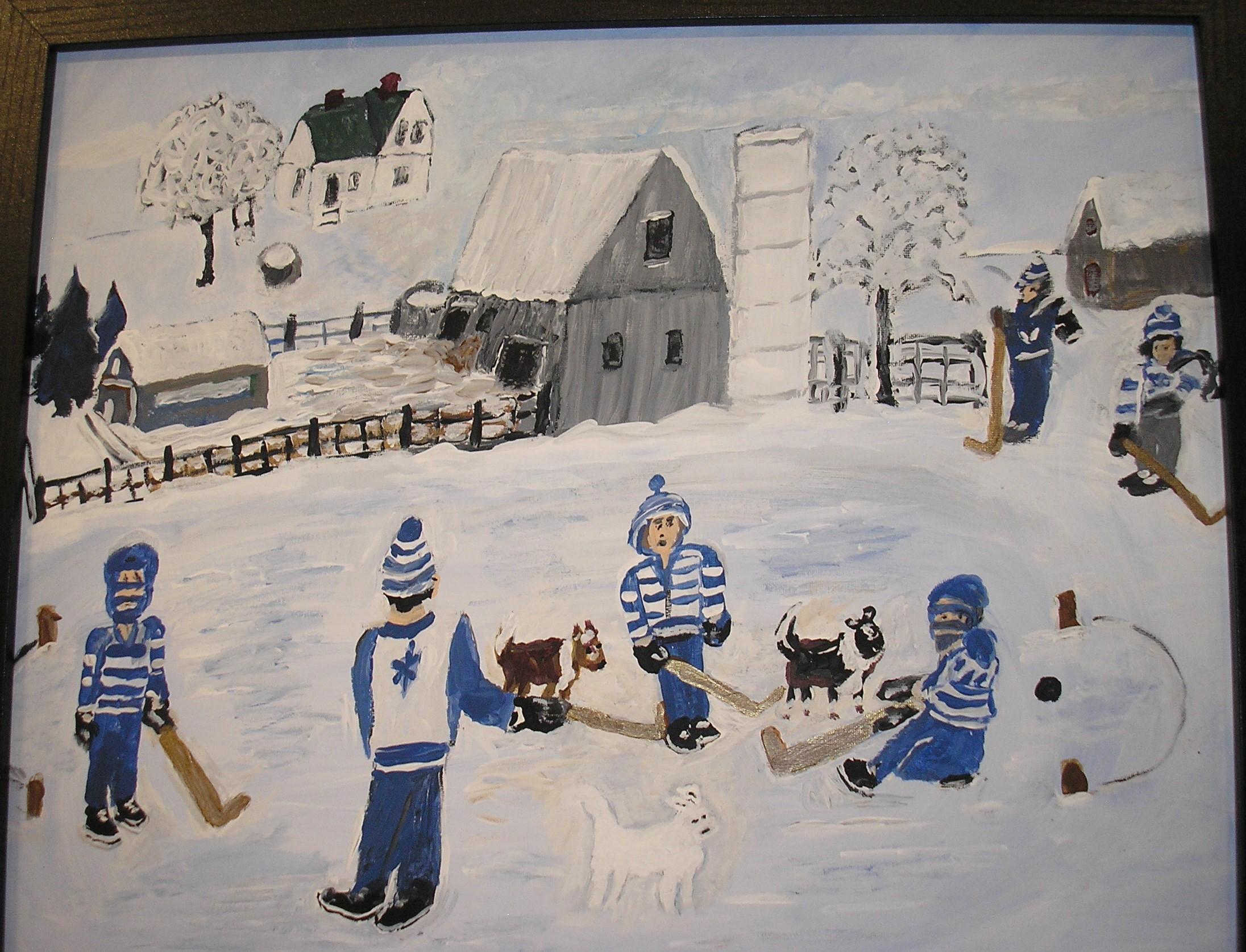 Hockey on the Pond - AMc