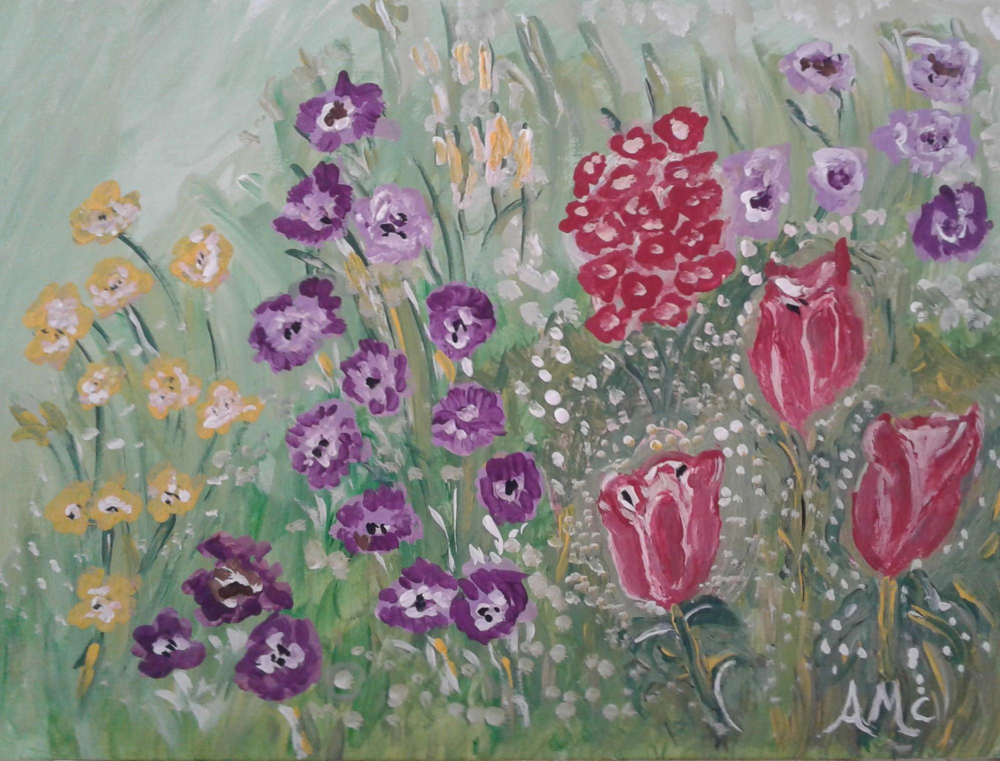 Spring Flowers - AMc