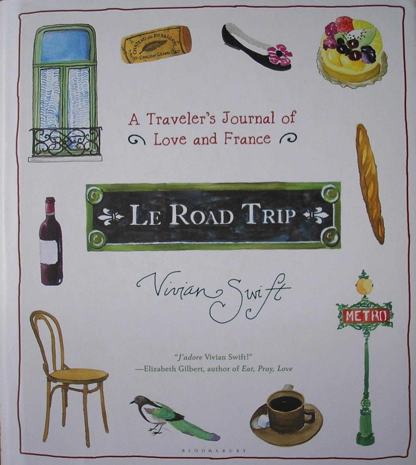 Le Road Trip book
