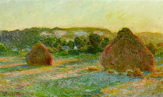 Haystacks - Monet