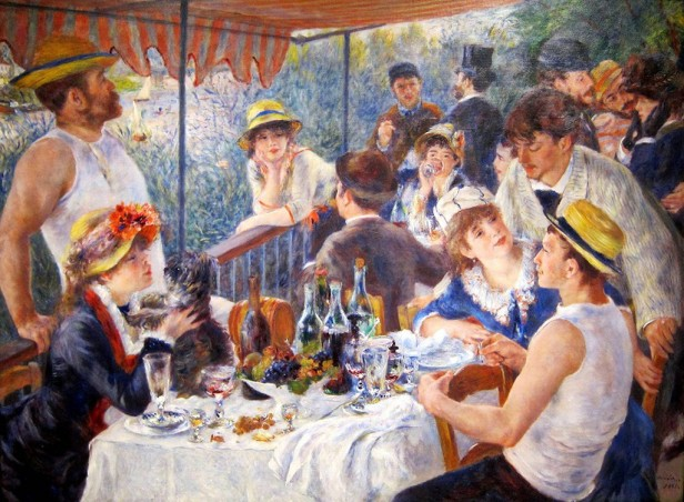 The Luncheon of the Boating Party - Renoir