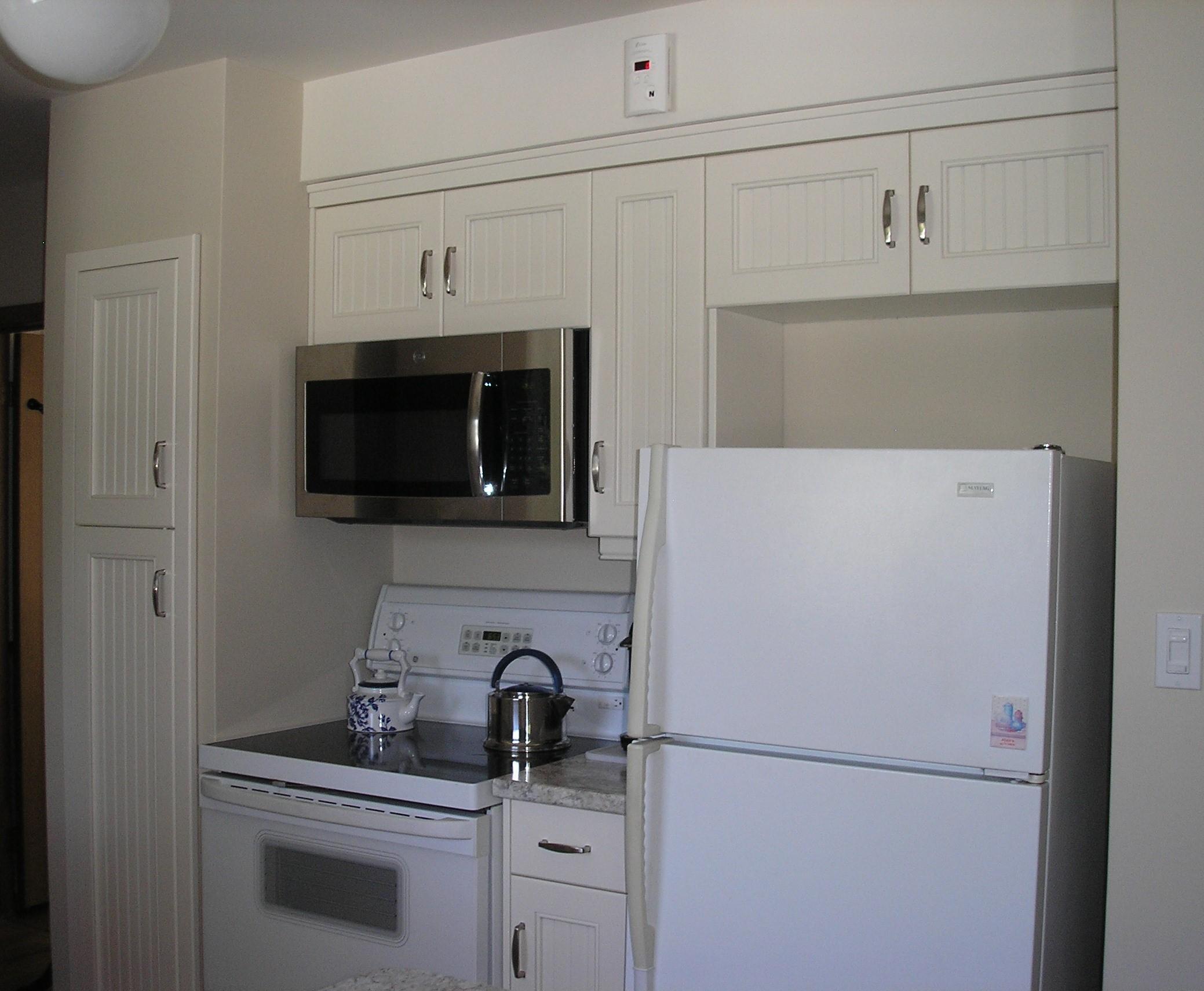 Kitchen Reno - Stove & Fridge