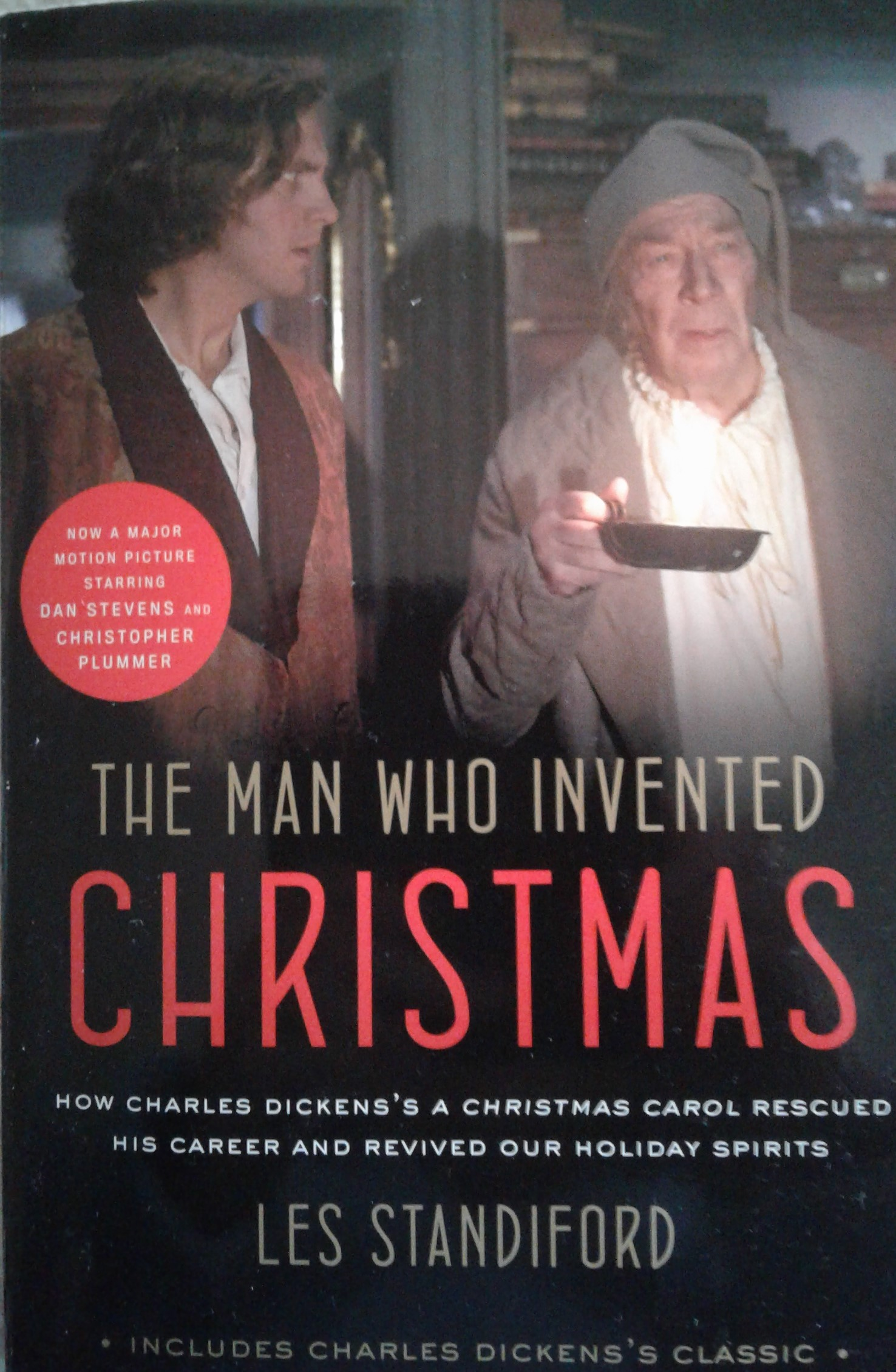 The Man Who Invented Christmas Book