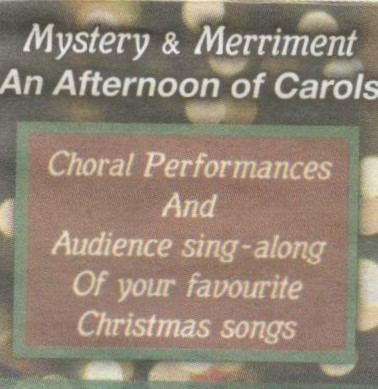 Carol sing notice