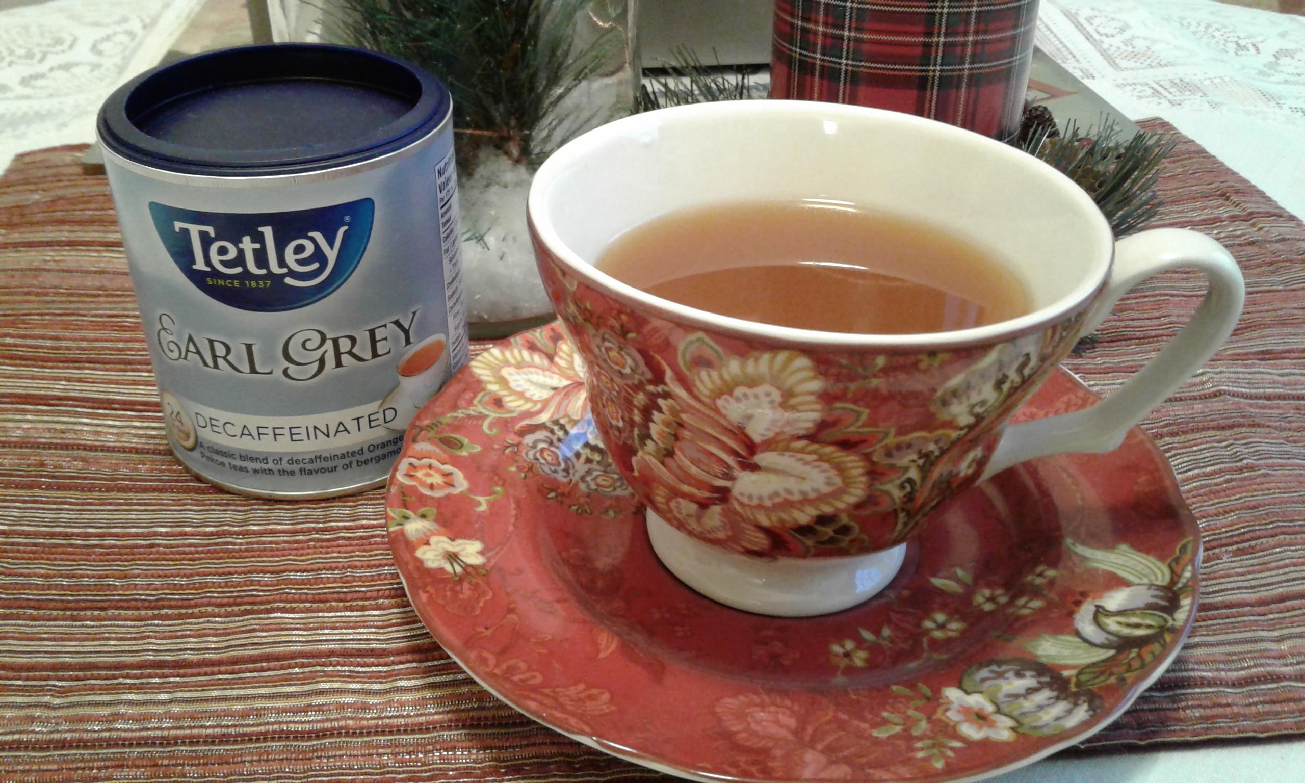 Cider and tea mixture