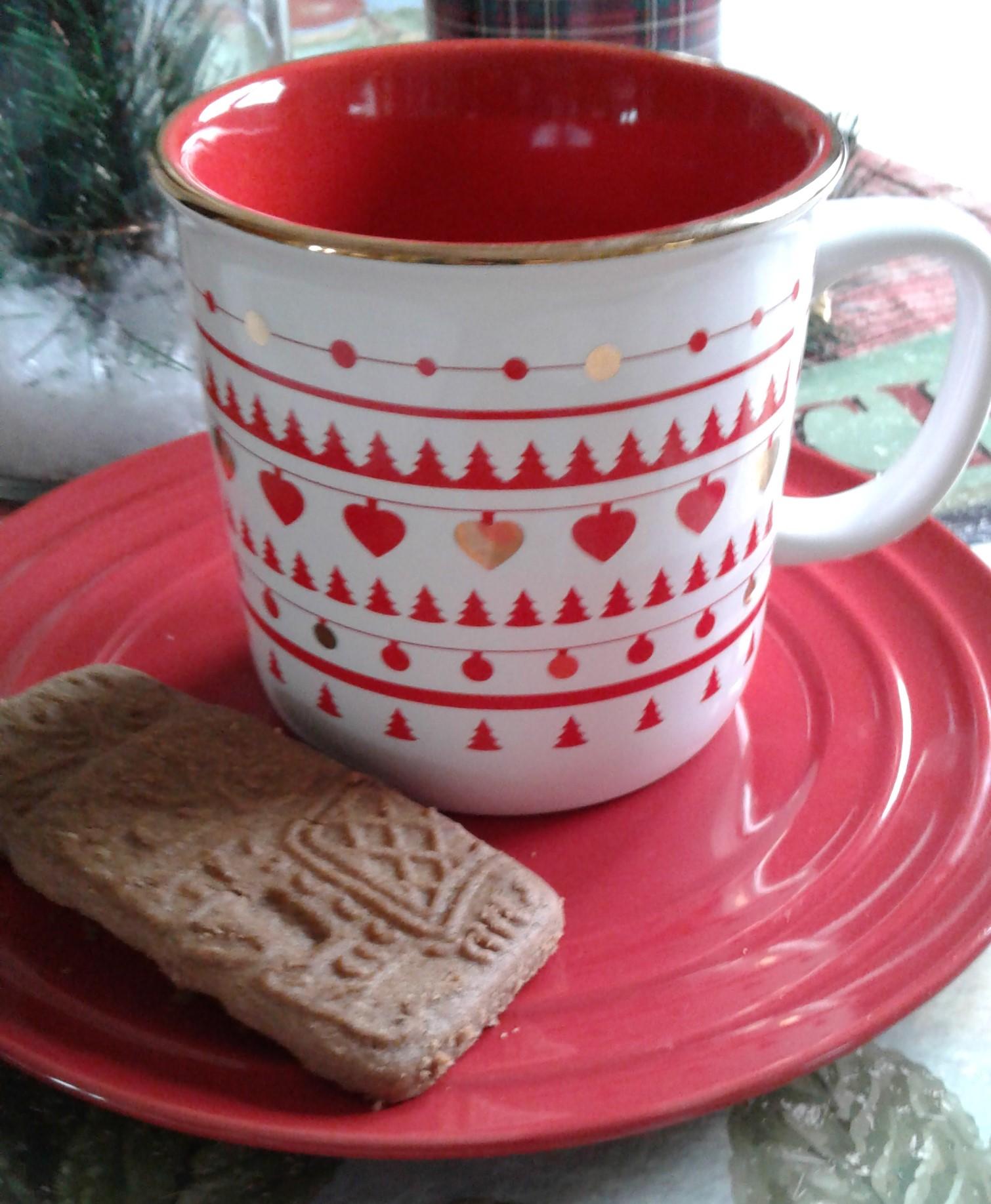 mug and cookie