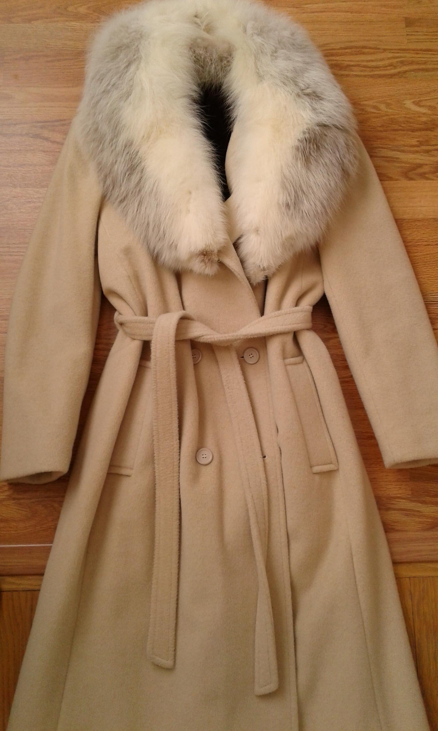 Camel winter coat