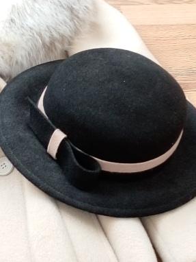 hat winter black