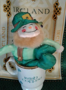 St. Patricks' Day leprechaun