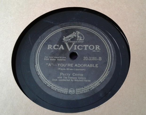 records old  Perry Como