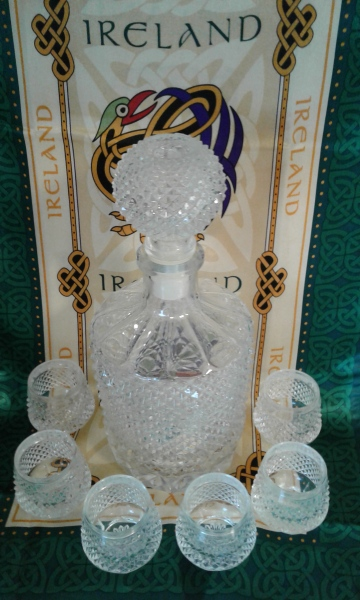 Whiskey decanter two