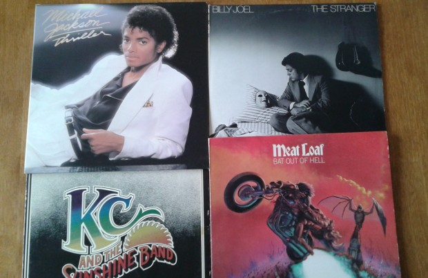 old records albums - 70's and 80's