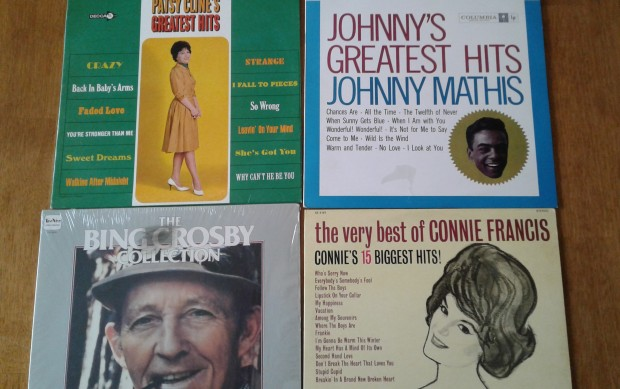 old records albums 60's