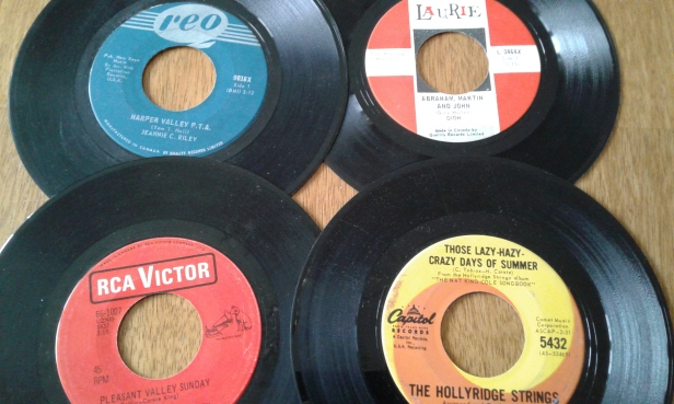 records 45's sixties hits