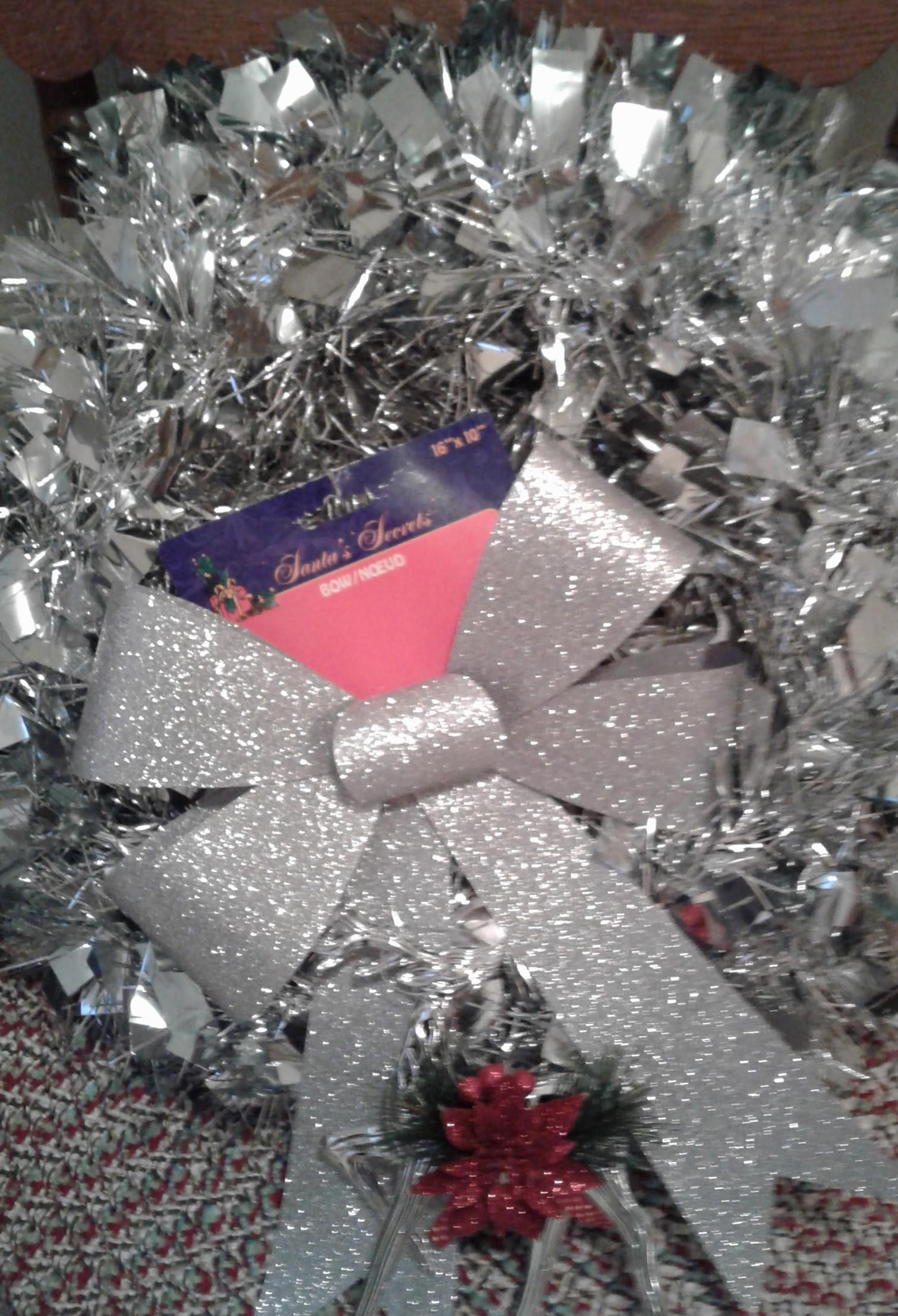 Sparkly Christmas wreaths