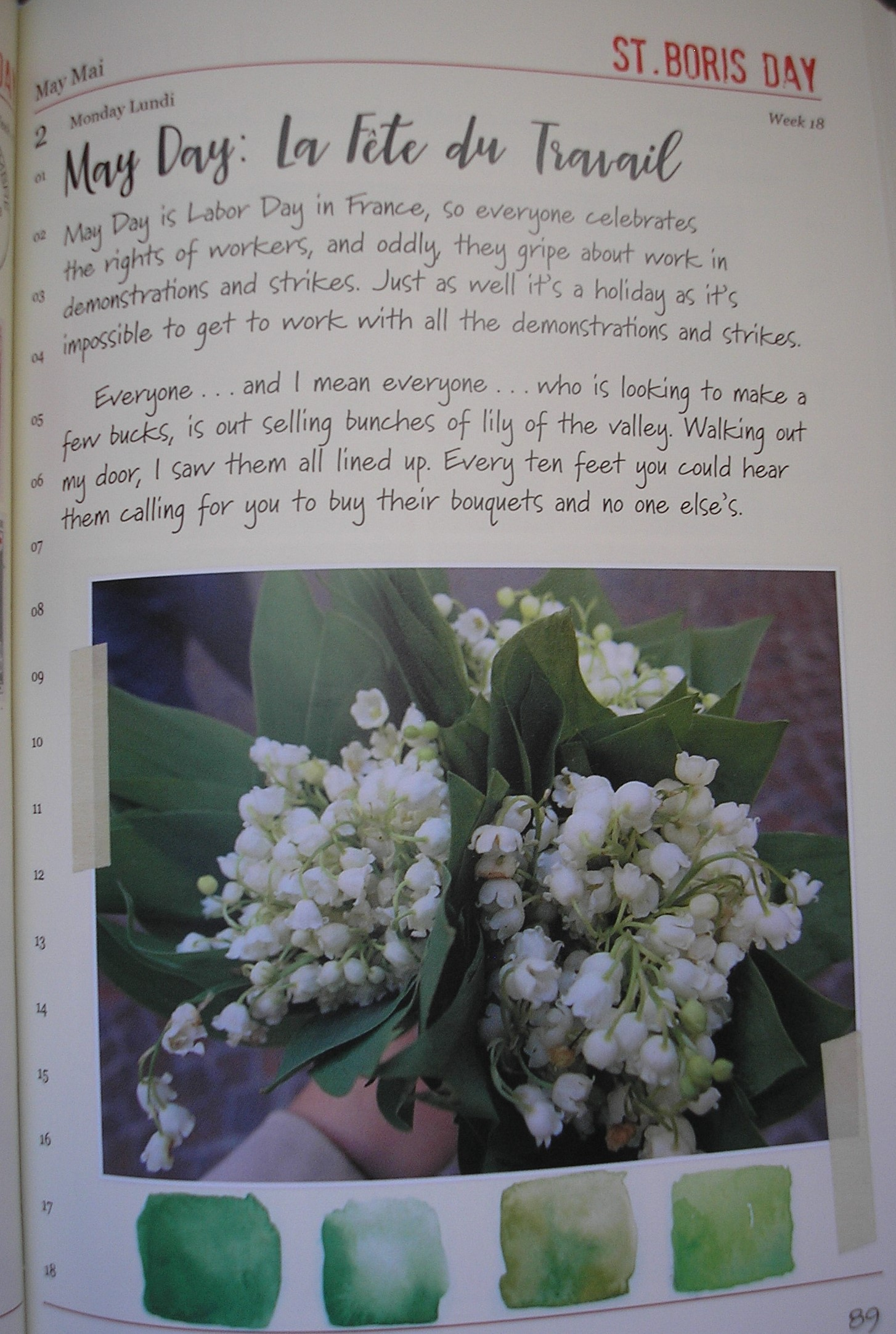 Lily of the Valley - Janice MacLeod book
