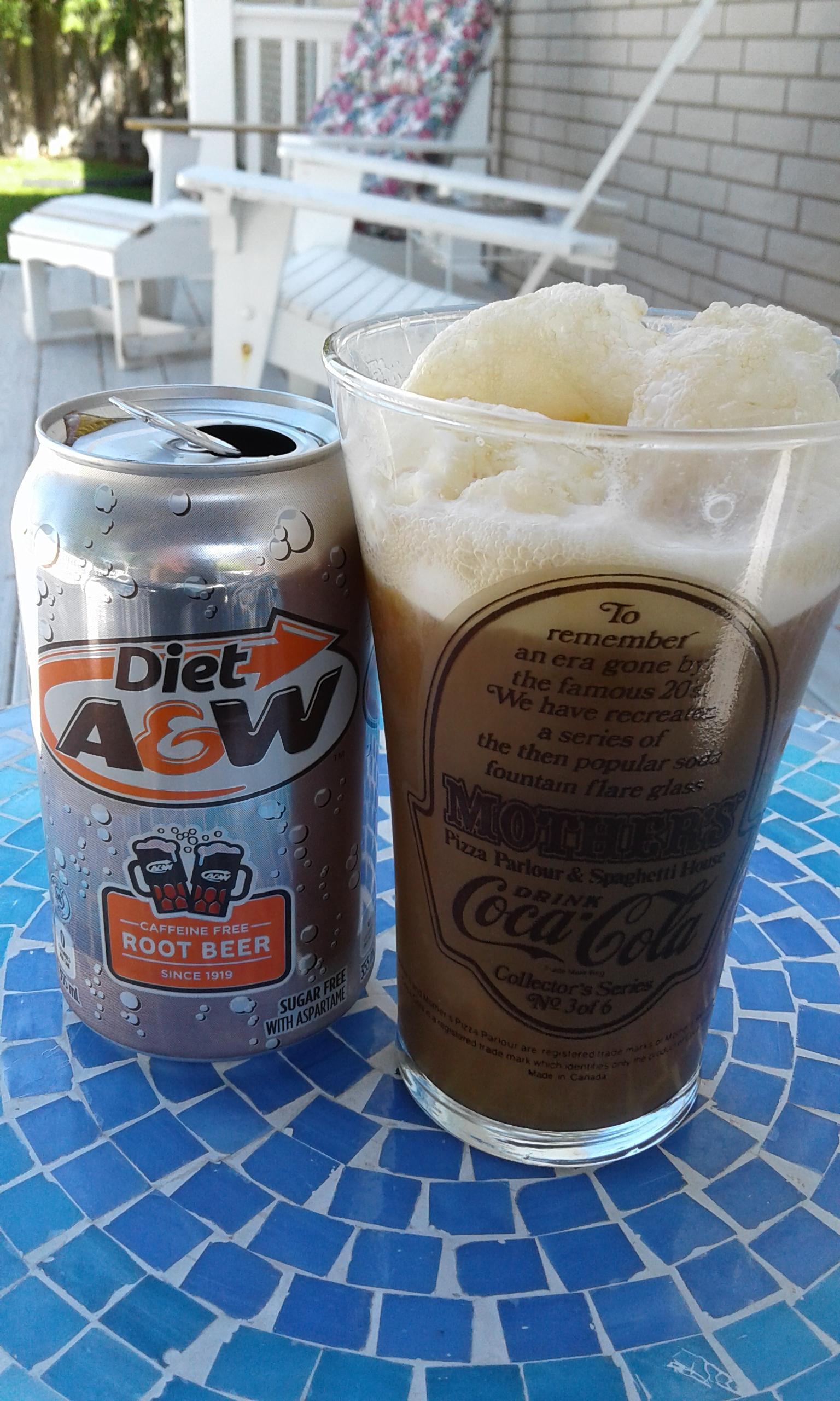 Root Beer float