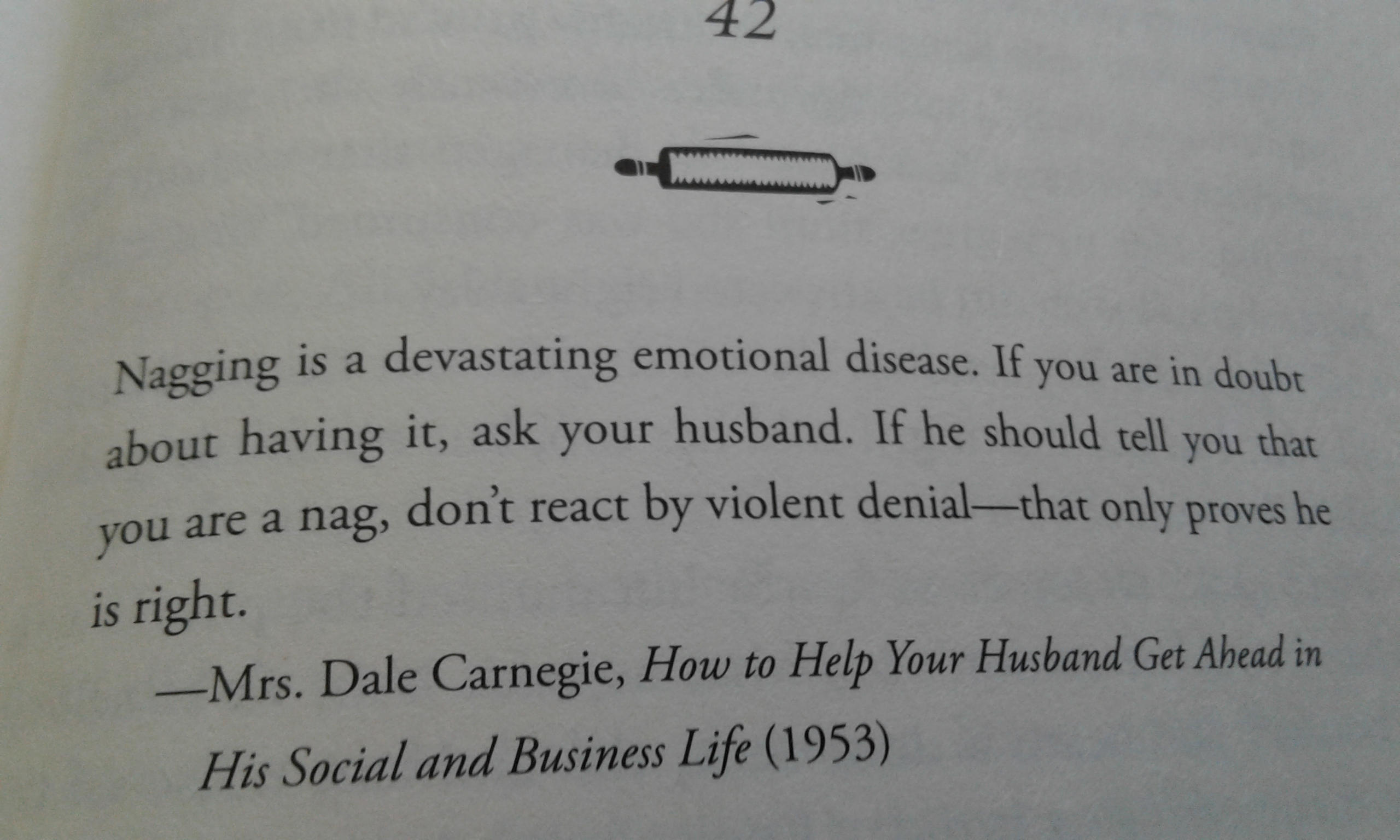Vintage 50's Marriage Advice