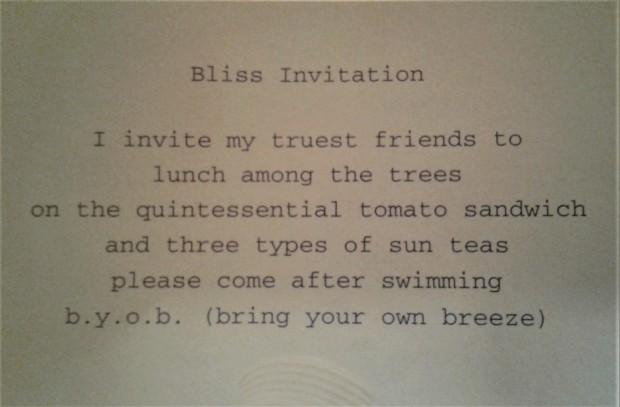 Victoria poem Bliss Breeze