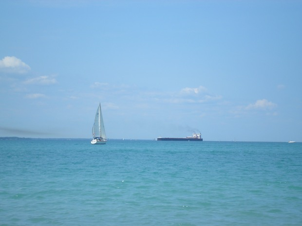 water boats lake