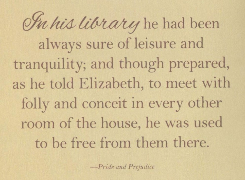 Jane Austen quote re library 2(4)