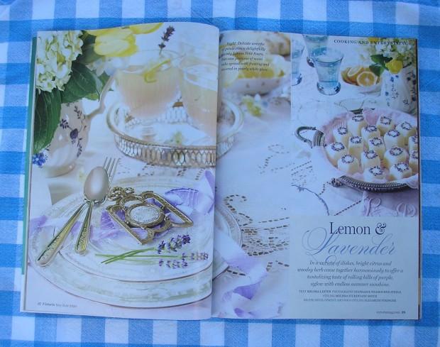 Lemon and lavender - Victoria