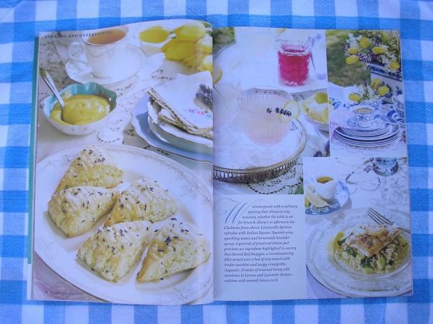 Lemon and lavender scones  Victoria - Victoria