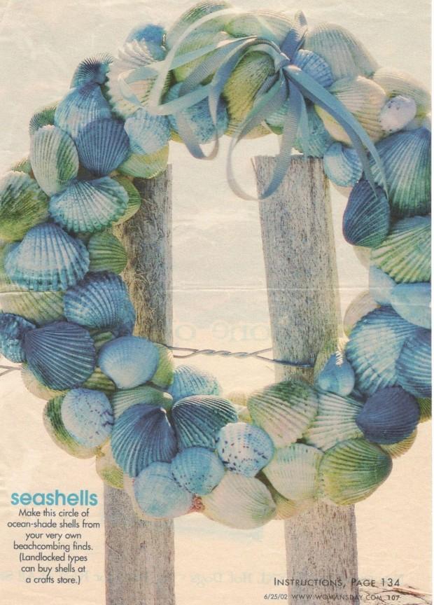 seashell wreath (4)