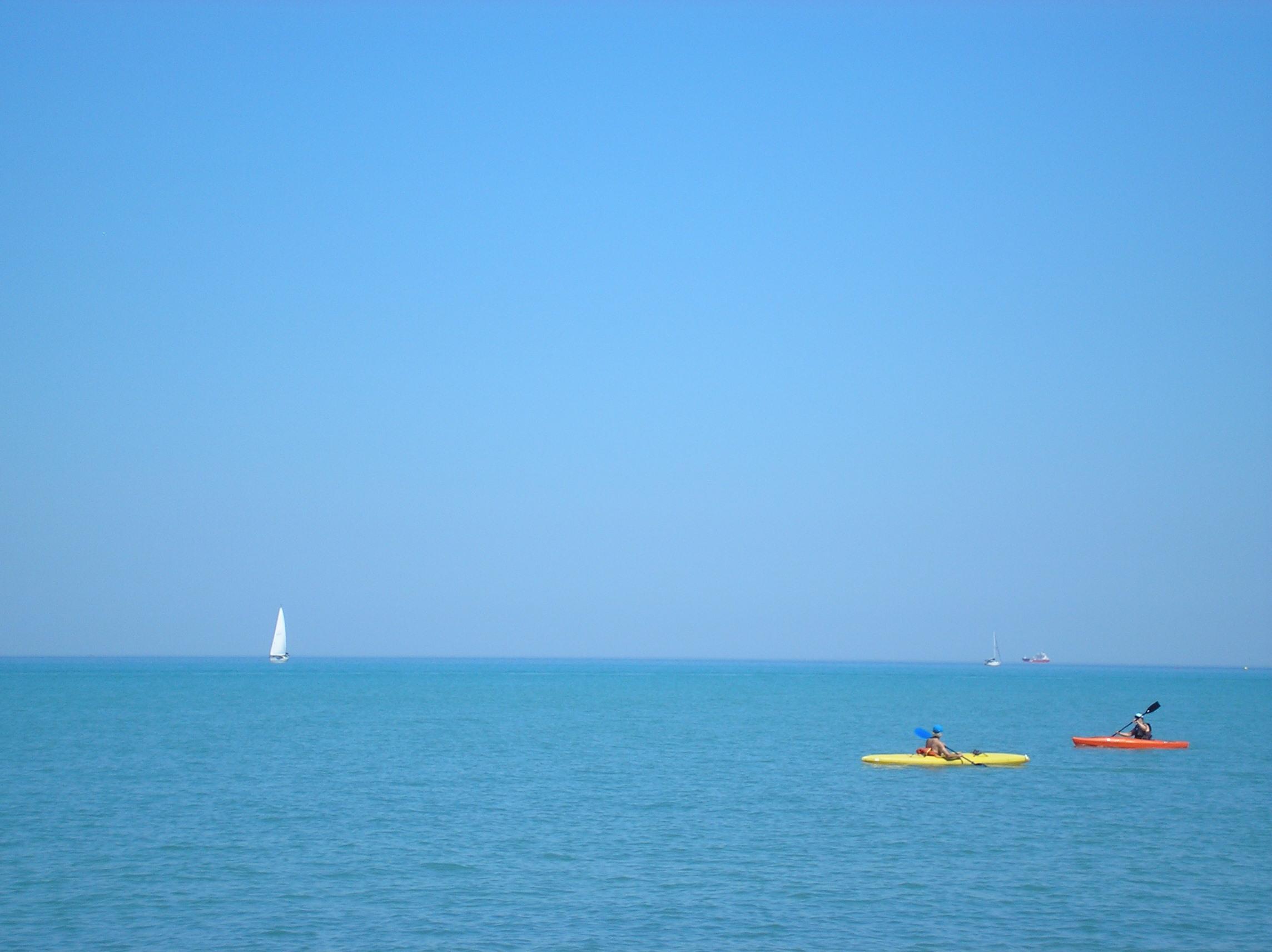 Canatara Park - kayaks