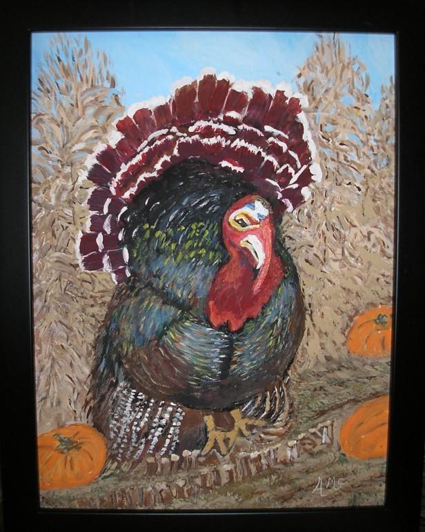 Thanksgiving Turkey - AMc